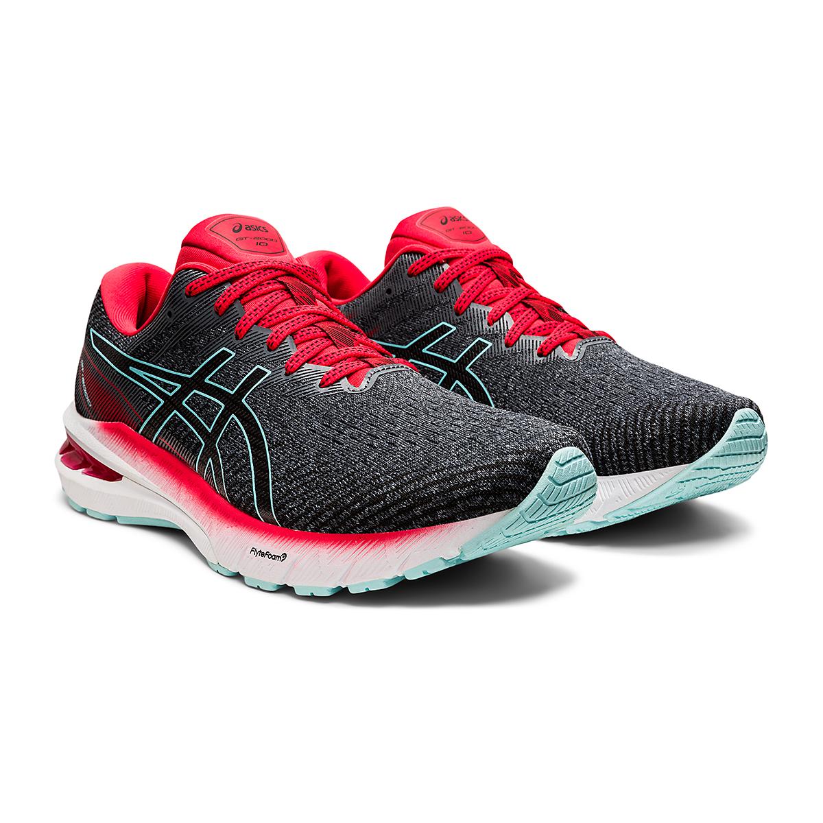 Men's Asics GT-2000 10 Running Shoe - Color: Metropolis/Electric Red - Size: 7 - Width: Regular, Metropolis/Electric Red, large, image 3