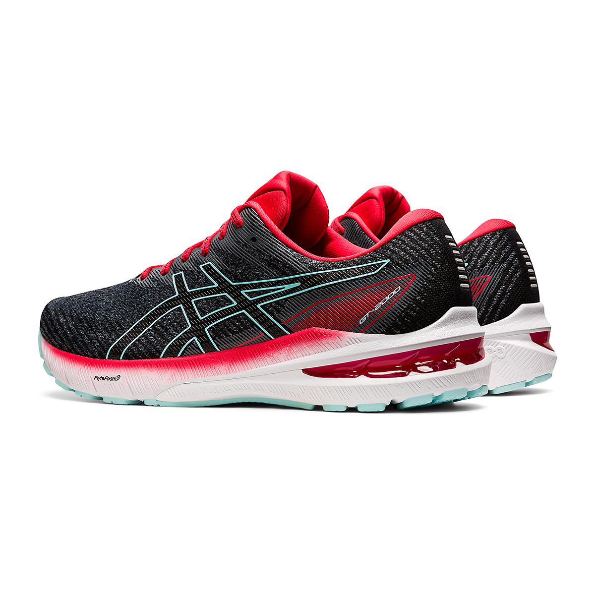Men's Asics GT-2000 10 Running Shoe - Color: Metropolis/Electric Red - Size: 7 - Width: Regular, Metropolis/Electric Red, large, image 4