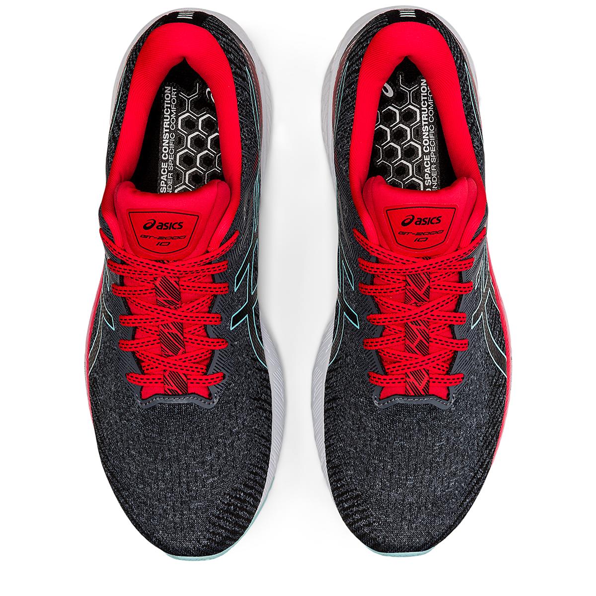 Men's Asics GT-2000 10 Running Shoe - Color: Metropolis/Electric Red - Size: 7 - Width: Regular, Metropolis/Electric Red, large, image 6