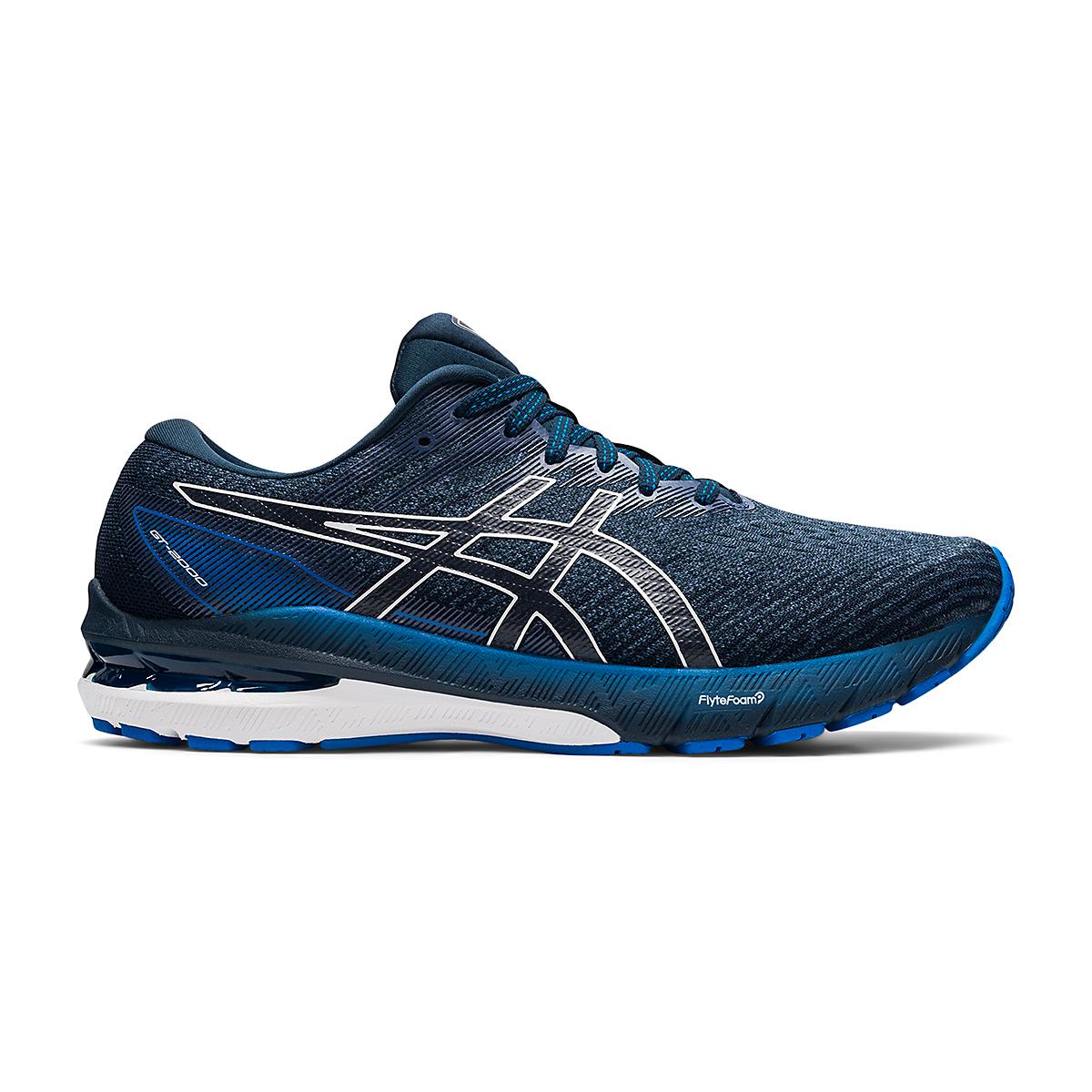 Men's Asics GT-2000 10 Running Shoe - Color: Thunder Blue/French Blue - Size: 7 - Width: Regular, Thunder Blue/French Blue, large, image 1
