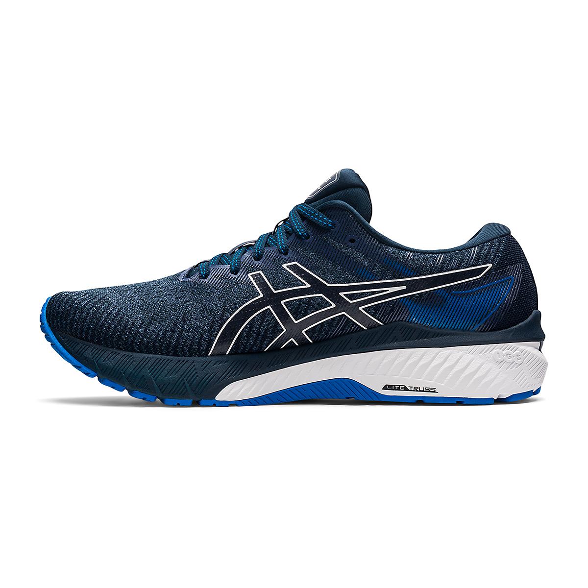 Men's Asics GT-2000 10 Running Shoe - Color: Thunder Blue/French Blue - Size: 7 - Width: Regular, Thunder Blue/French Blue, large, image 2