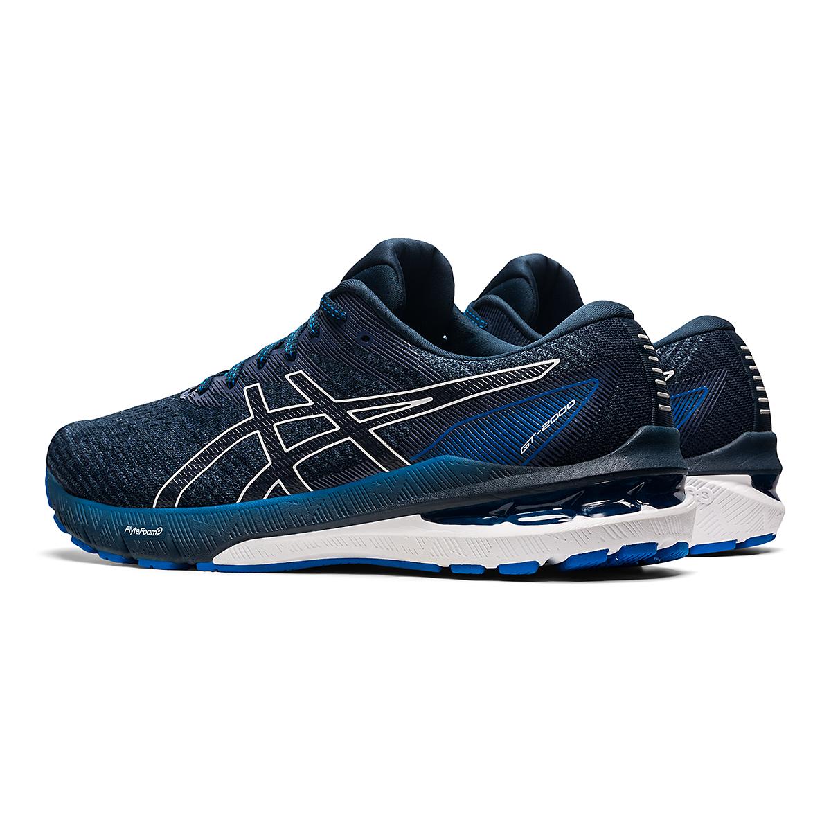 Men's Asics GT-2000 10 Running Shoe - Color: Thunder Blue/French Blue - Size: 7 - Width: Regular, Thunder Blue/French Blue, large, image 4