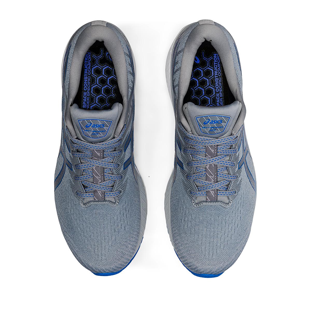 Men's Asics GT-2000 10 Running Shoe - Color: Sheet Rock/Electric Blue - Size: 7 - Width: Wide, Sheet Rock/Electric Blue, large, image 6