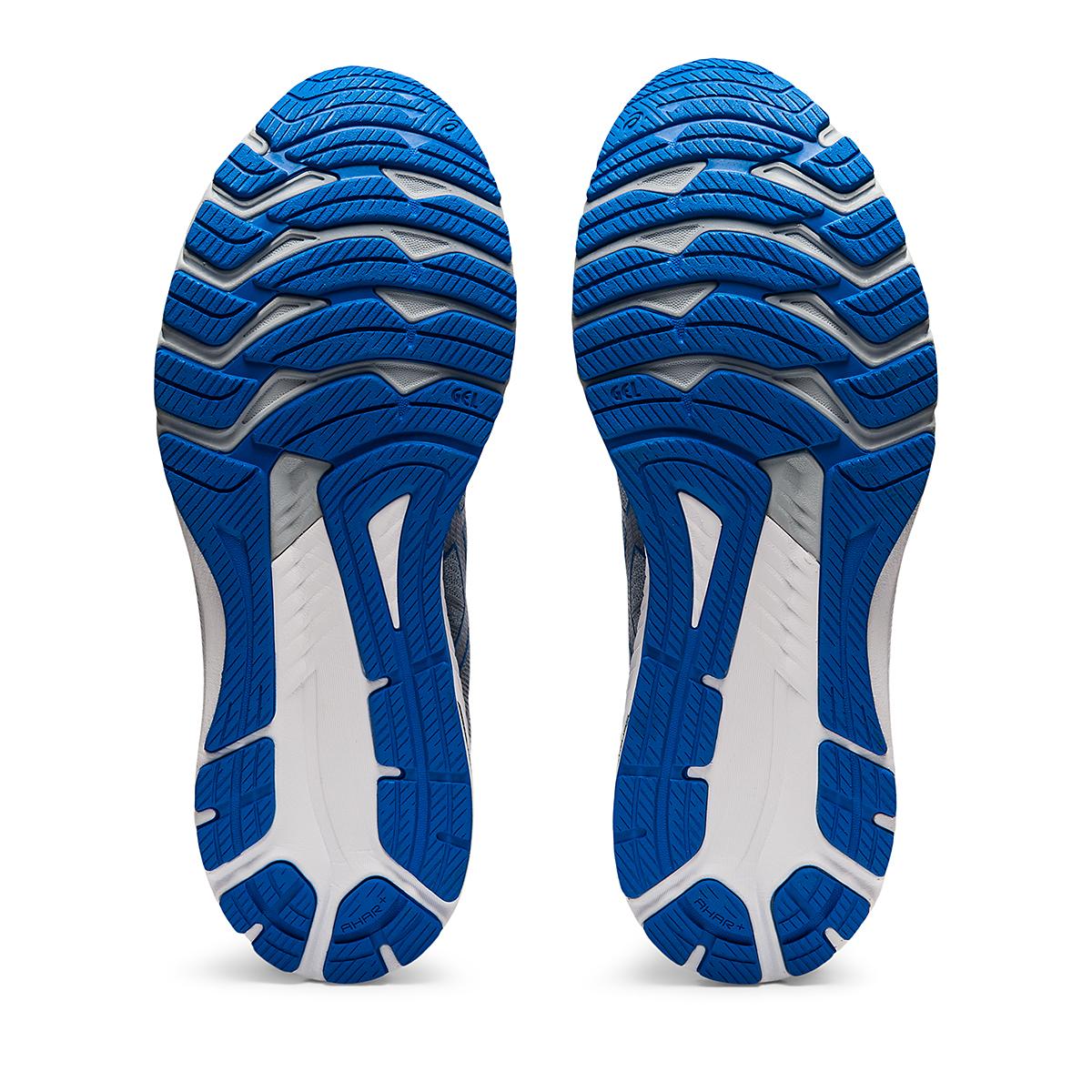 Men's Asics GT-2000 10 Running Shoe - Color: Sheet Rock/Electric Blue - Size: 7 - Width: Wide, Sheet Rock/Electric Blue, large, image 7