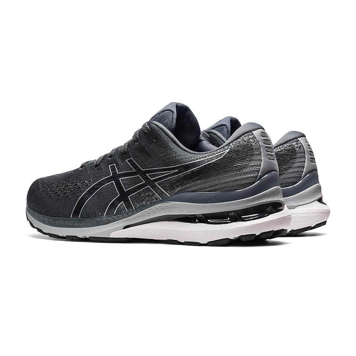 Men's Asics Gel-Kayano 28 Running Shoe - Color: Carrier Grey/Black - Size: 7 - Width: Wide, Carrier Grey/Black, large, image 4
