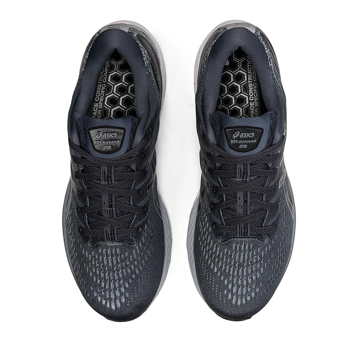 Men's Asics Gel-Kayano 28 Running Shoe - Color: Carrier Grey/Black - Size: 7 - Width: Wide, Carrier Grey/Black, large, image 5