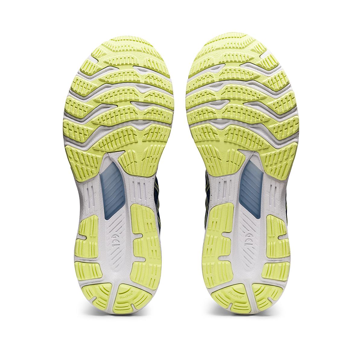 Men's Asics Gel-Kayano 28 Running Shoe - Color: Thunder Blue/Glow Yellow - Size: 7 - Width: Regular, Thunder Blue/Glow Yellow, large, image 6