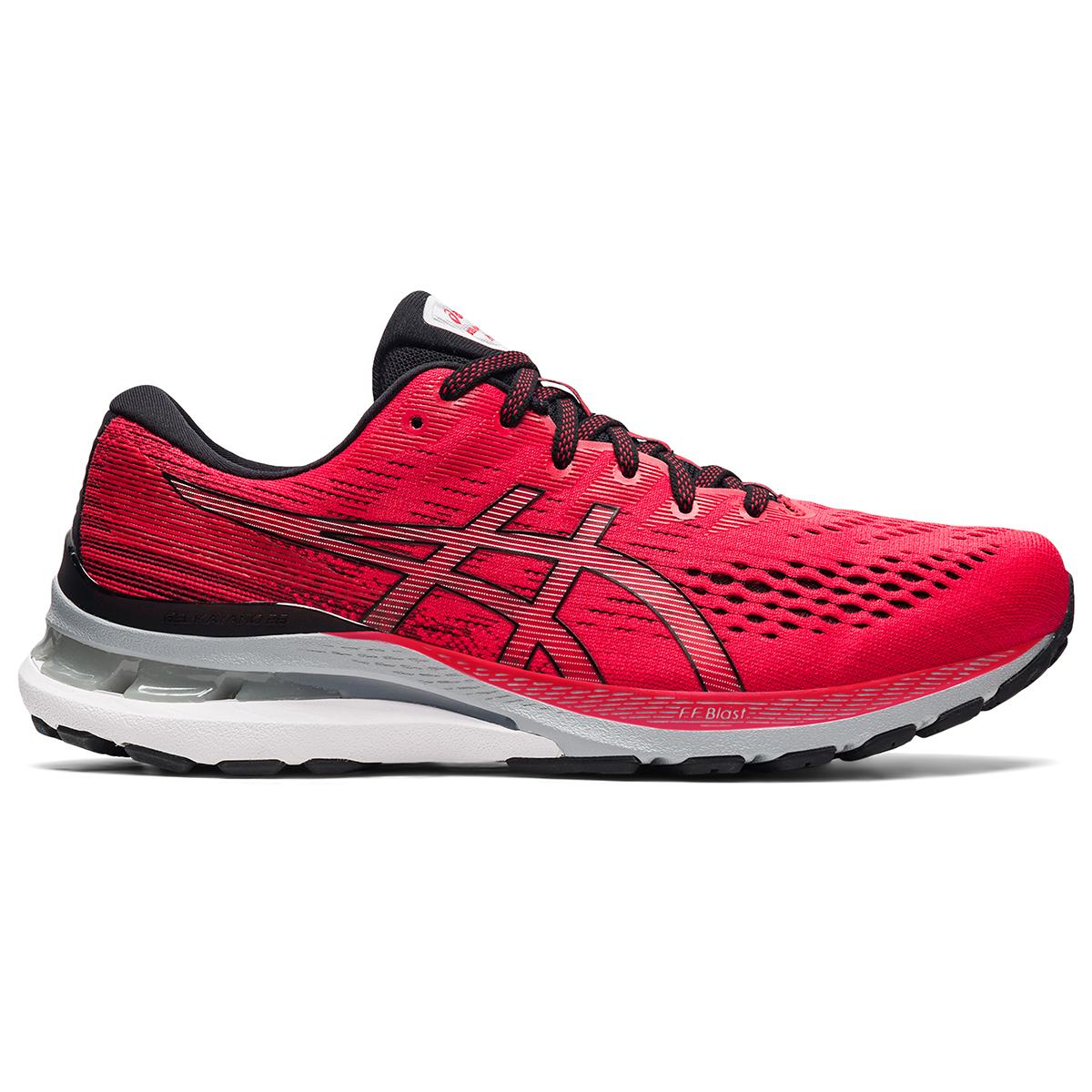 Men's Asics Gel-Kayano 28 Running Shoe - Color: Electric Red - Size: 7 - Width: Regular, Electric Red, large, image 1