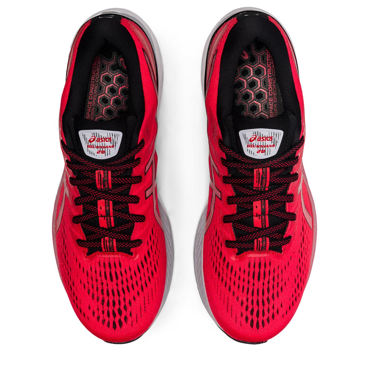 Men's Asics Gel-Kayano 28 Running Shoe - Color: Electric Red - Size: 7 - Width: Regular, Electric Red, large, image 3