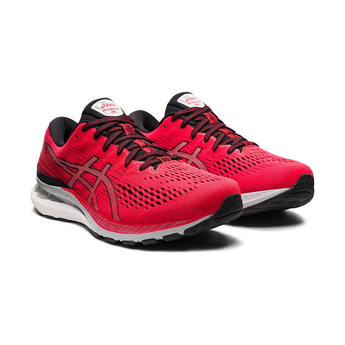 Men's Asics Gel-Kayano 28 Running Shoe - Color: Electric Red - Size: 7 - Width: Regular, Electric Red, large, image 5