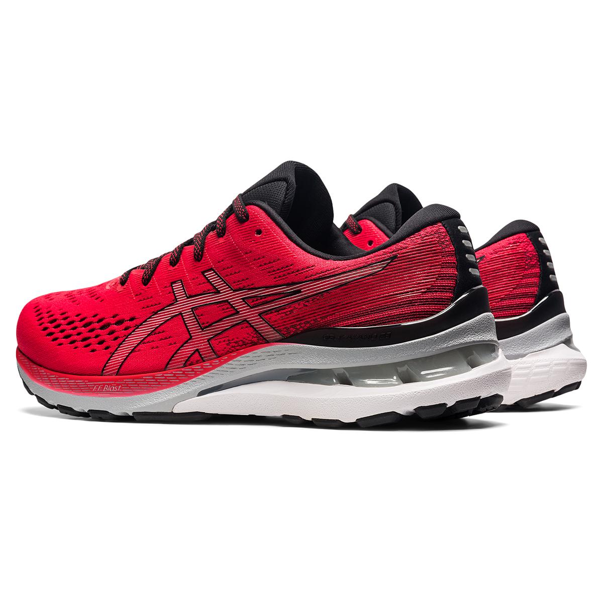 Men's Asics Gel-Kayano 28 Running Shoe - Color: Electric Red - Size: 7 - Width: Regular, Electric Red, large, image 6