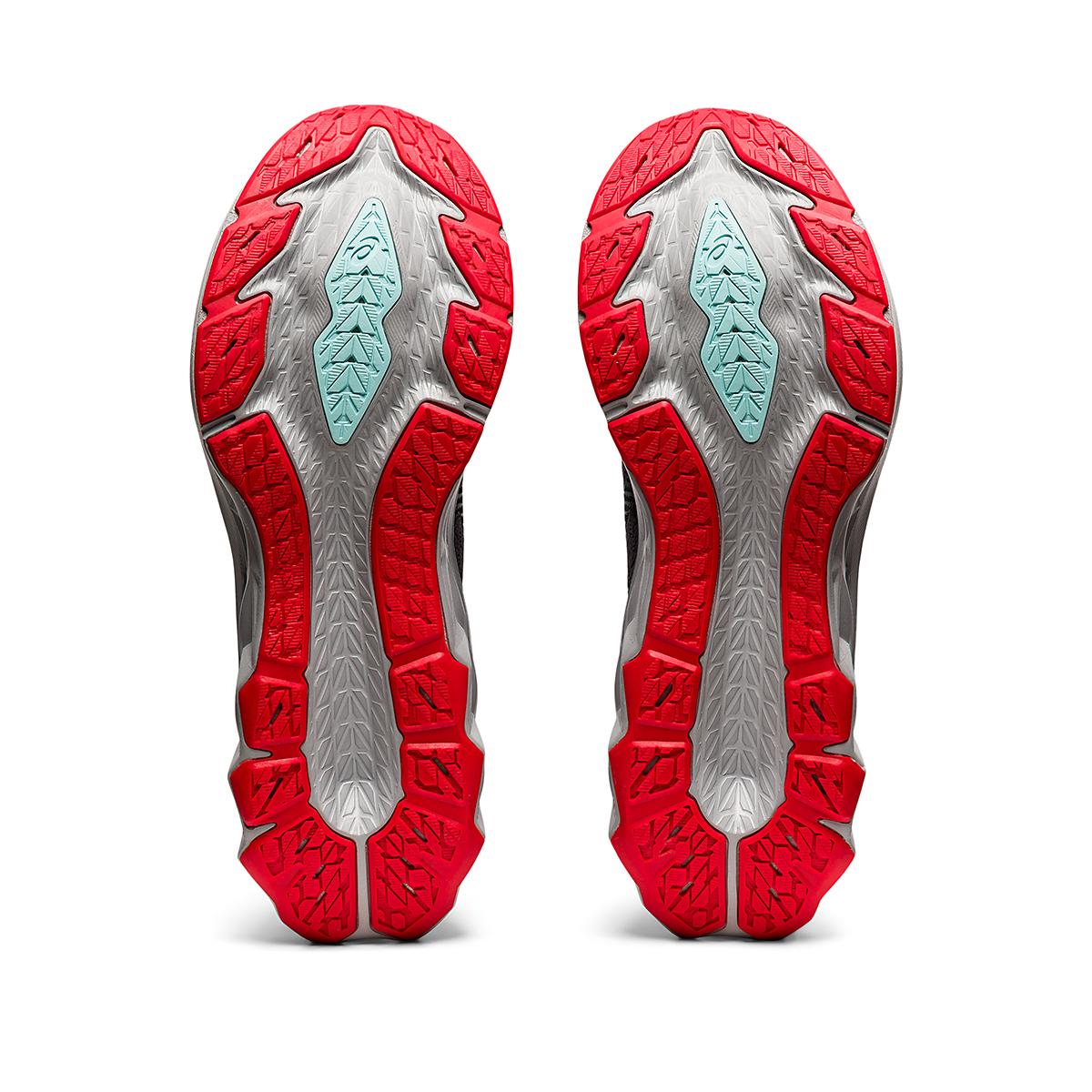 Men's Asics Novablast 2 Running Shoe - Color: Metropolis/Clear Blue - Size: 6 - Width: Regular, Metropolis/Clear Blue, large, image 7