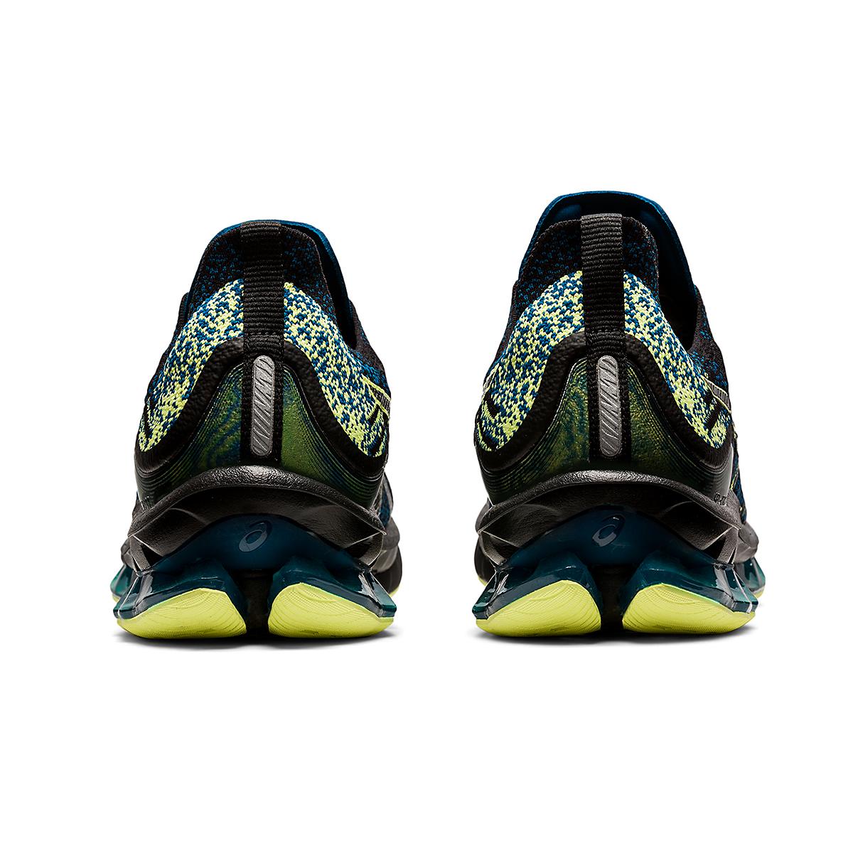 Men's Asics Kinsei Blast Running Shoe - Color: Black/Glow Yellow - Size: 6 - Width: Regular, Black/Glow Yellow, large, image 6