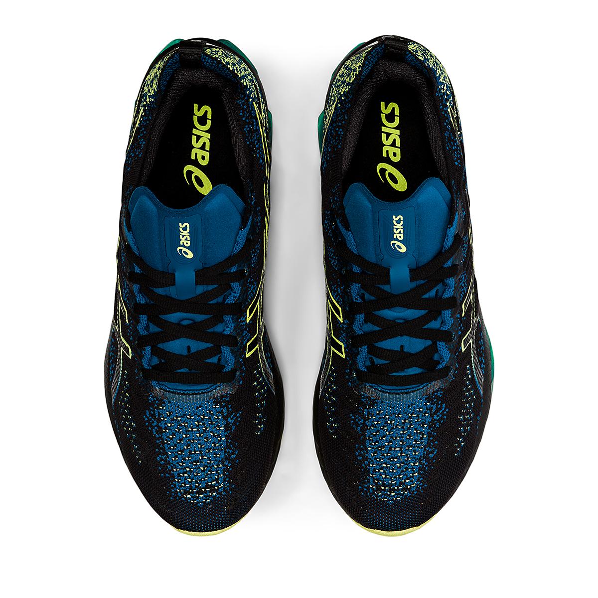 Men's Asics Kinsei Blast Running Shoe - Color: Black/Glow Yellow - Size: 6 - Width: Regular, Black/Glow Yellow, large, image 7