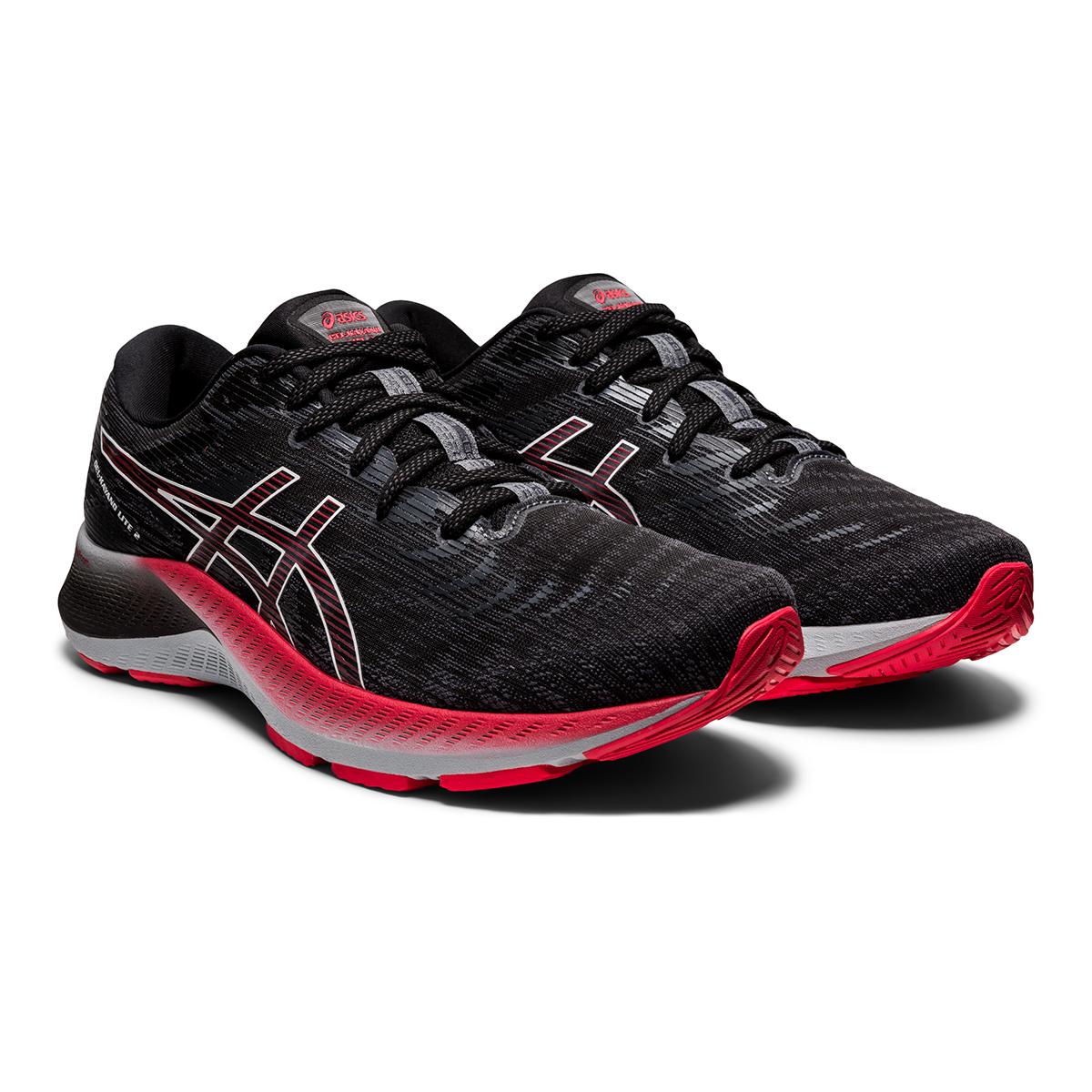 Men's Asics Gel-Kayano Lite 2 Running Shoe - Color: Black/White - Size: 7 - Width: Regular, Black/White, large, image 5