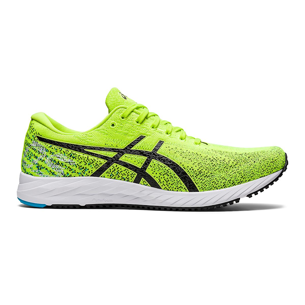 Men's Asics Gel-DS Trainer 26 Running Shoe - Color: Hazard Green/Black - Size: 6 - Width: Regular, Hazard Green/Black, large, image 1