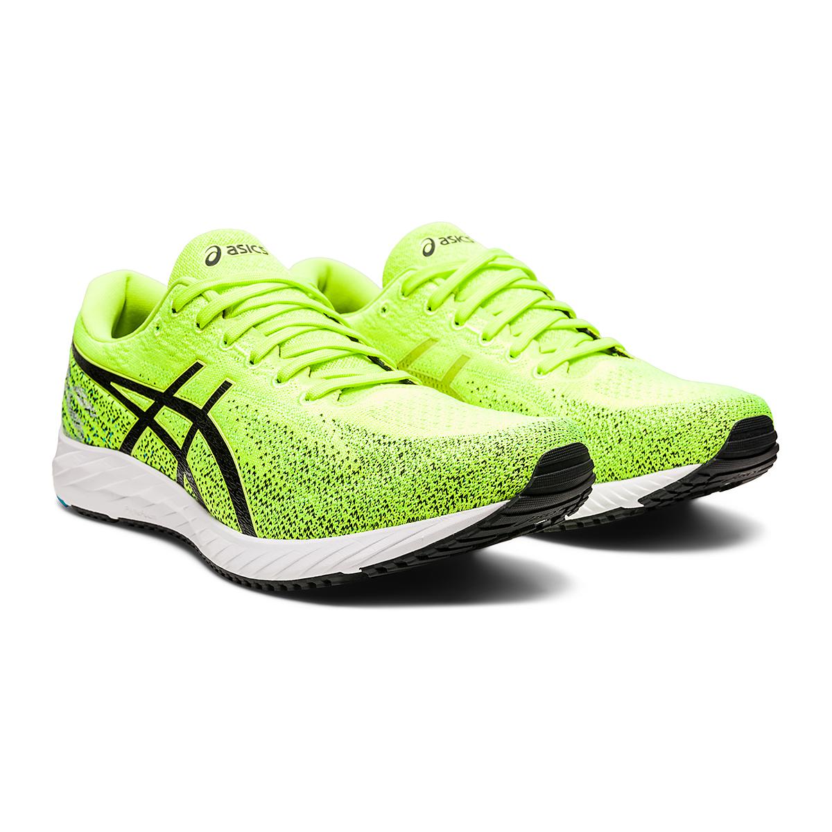 Men's Asics Gel-DS Trainer 26 Running Shoe - Color: Hazard Green/Black - Size: 6 - Width: Regular, Hazard Green/Black, large, image 3