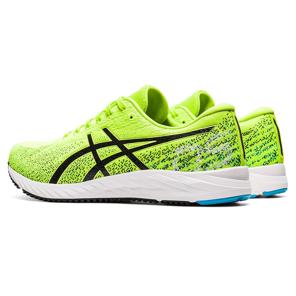 Men's Asics Gel-DS Trainer 26 Running Shoe - Color: Hazard Green/Black - Size: 6 - Width: Regular, Hazard Green/Black, large, image 4