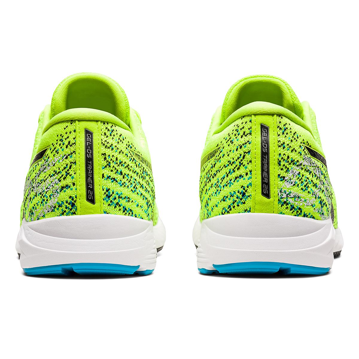 Men's Asics Gel-DS Trainer 26 Running Shoe - Color: Hazard Green/Black - Size: 6 - Width: Regular, Hazard Green/Black, large, image 5