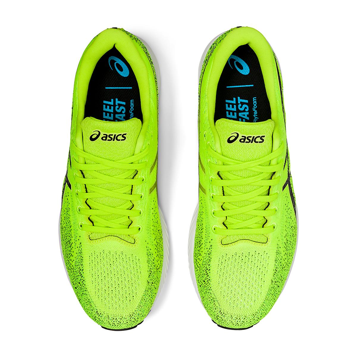 Men's Asics Gel-DS Trainer 26 Running Shoe - Color: Hazard Green/Black - Size: 6 - Width: Regular, Hazard Green/Black, large, image 6