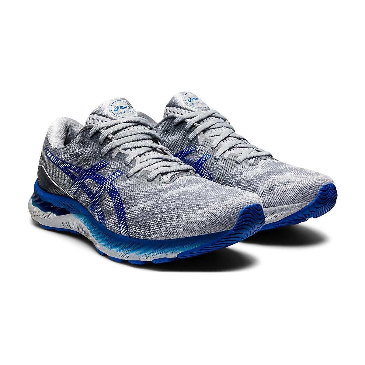 Men's Asics Gel-Nimbus 23 Running Shoe - Color: Piedmont Grey - Size: 6 - Width: Regular, Piedmont Grey, large, image 3