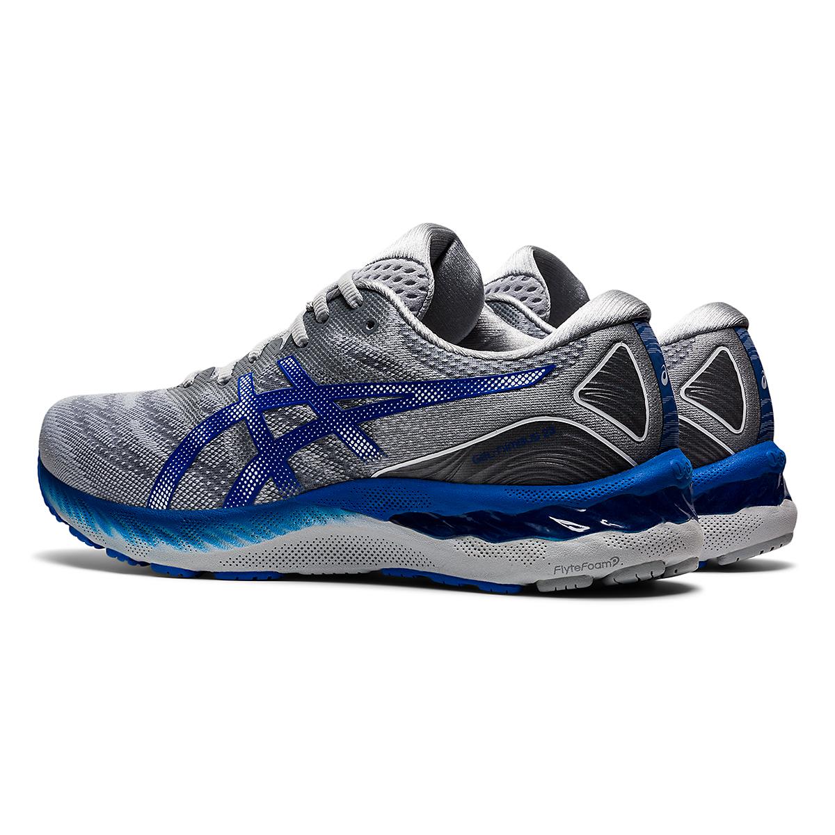 Men's Asics Gel-Nimbus 23 Running Shoe - Color: Piedmont Grey - Size: 6 - Width: Regular, Piedmont Grey, large, image 4