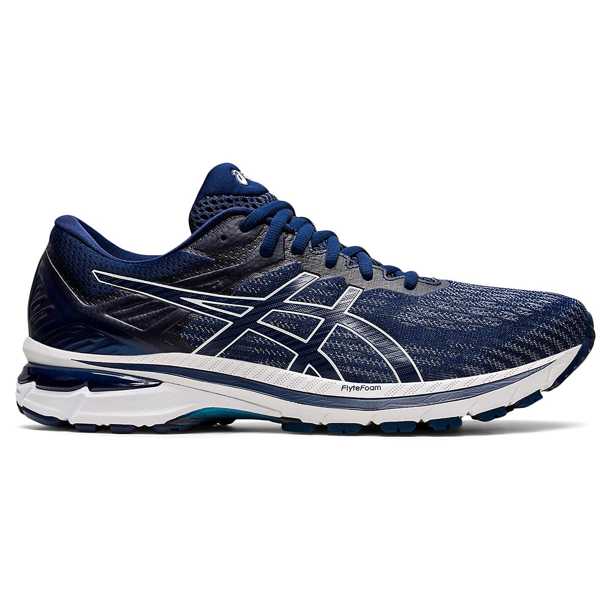 Men's Asics GT-2000 9 Running Shoe - Color: Blue Expanse - Size: 6 - Width: Regular, Blue Expanse, large, image 1