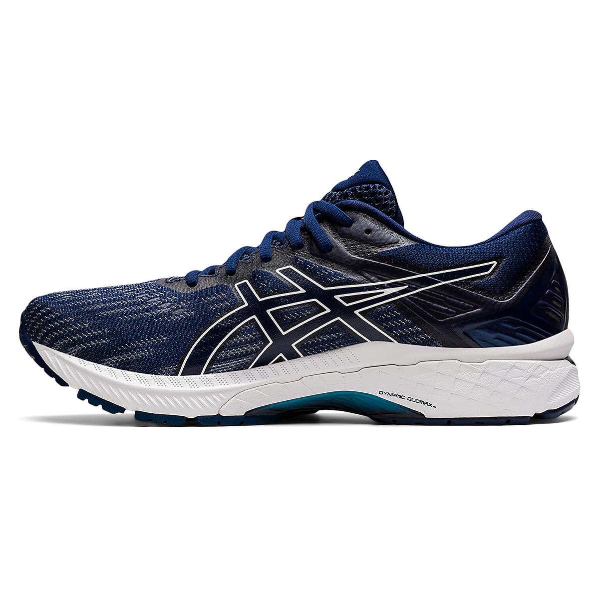 Men's Asics GT-2000 9 Running Shoe - Color: Blue Expanse - Size: 6 - Width: Regular, Blue Expanse, large, image 2