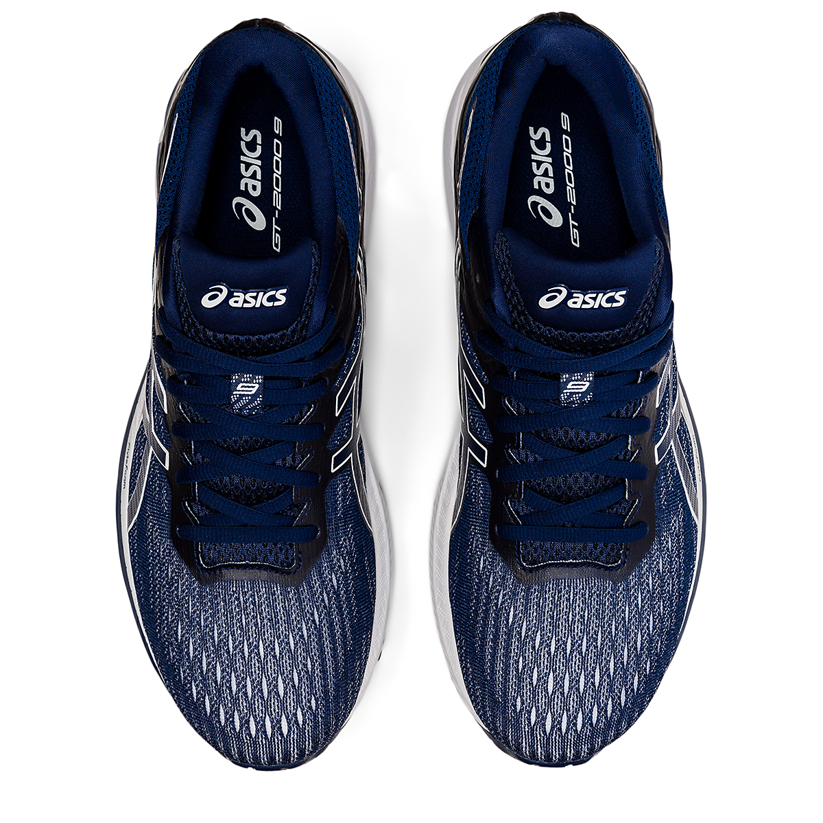 Men's Asics GT-2000 9 Running Shoe - Color: Blue Expanse - Size: 6 - Width: Regular, Blue Expanse, large, image 5