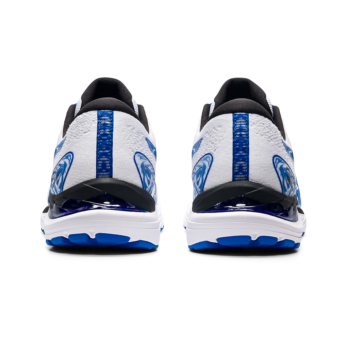Men's Asics SMU Gel-Cumulus 23 Running Shoe - Color: White/Tuna Blue - Size: 6 - Width: Regular, White/Tuna Blue, large, image 5