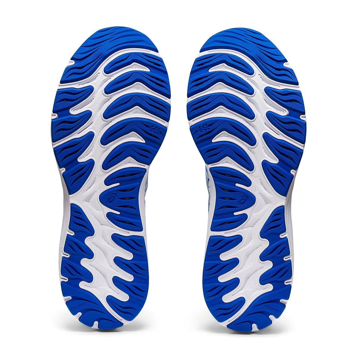 Men's Asics SMU Gel-Cumulus 23 Running Shoe - Color: White/Tuna Blue - Size: 6 - Width: Regular, White/Tuna Blue, large, image 7