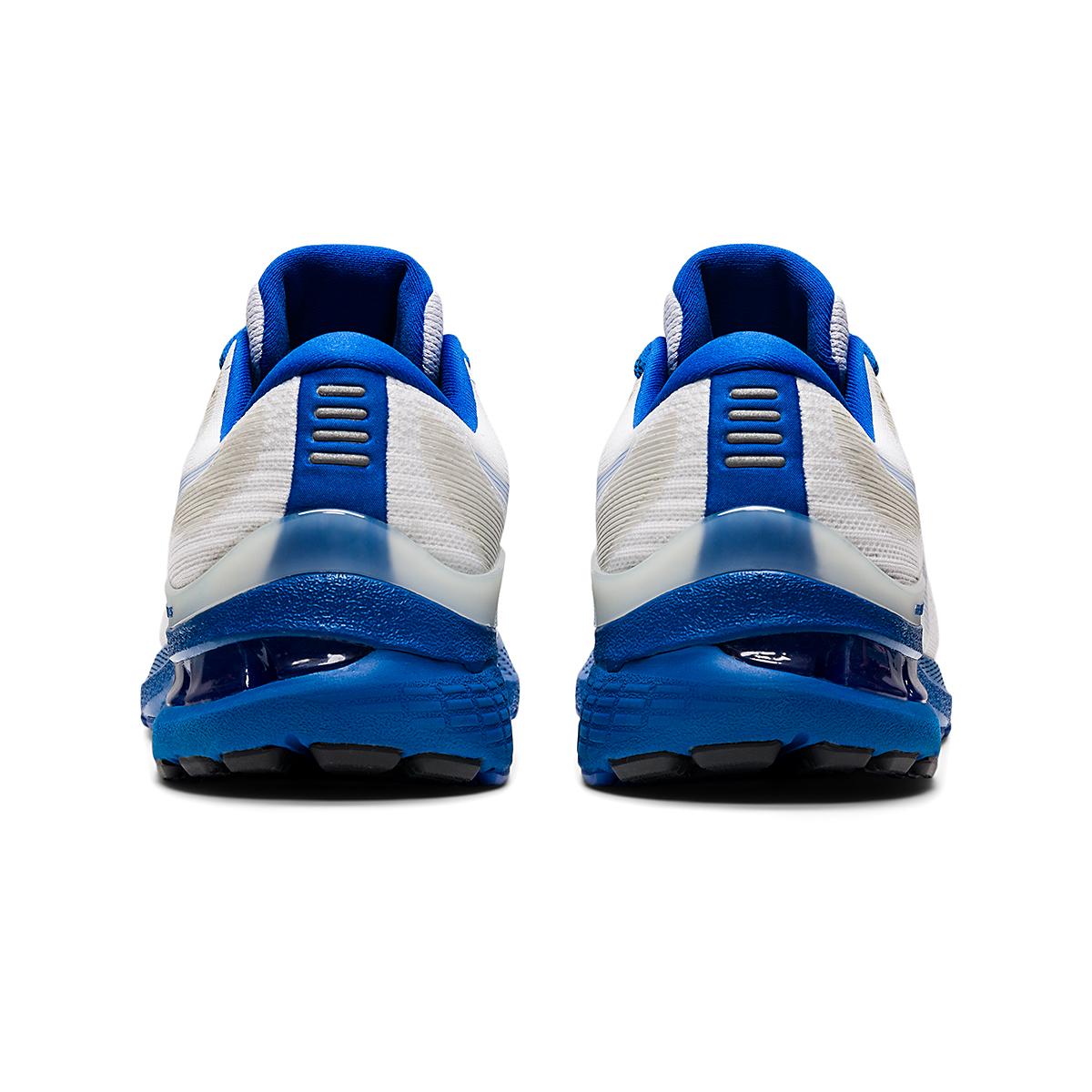 Men's Asics Gel-Kayano 28 Running Shoe - Color: White/Tuna Blue - JackRabbit Exclusive - Size: 6.5 - Width: Regular, White/Tuna Blue - JackRabbit Exclusive, large, image 5