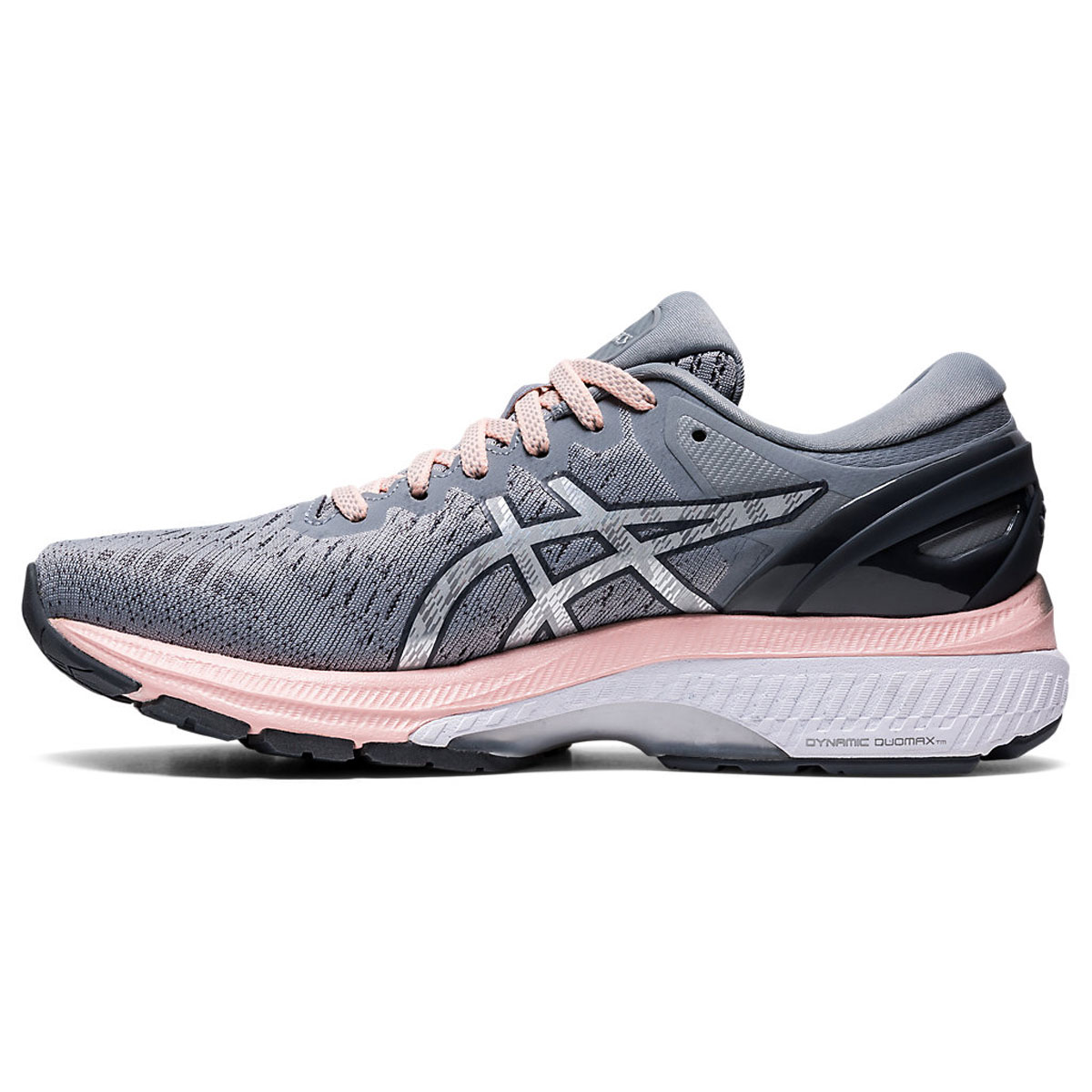 Women's Asics GEL-Kayano 27 Running Shoe - Color: Sheet Rock/Pure (Regular Width) - Size: 5, Sheet Rock/Pure, large, image 2