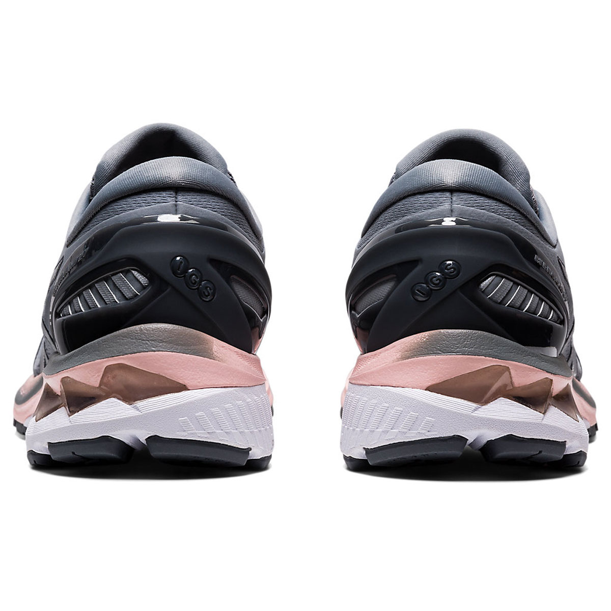 Women's Asics GEL-Kayano 27 Running Shoe - Color: Sheet Rock/Pure (Regular Width) - Size: 5, Sheet Rock/Pure, large, image 5