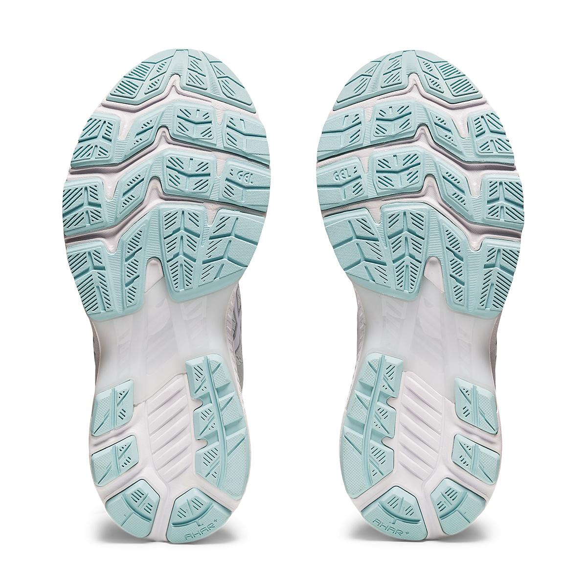 Women's Asics GEL-Kayano 27 Running Shoe - Color: Glacier Grey/White - Size: 6 - Width: Regular, Glacier Grey/White, large, image 7