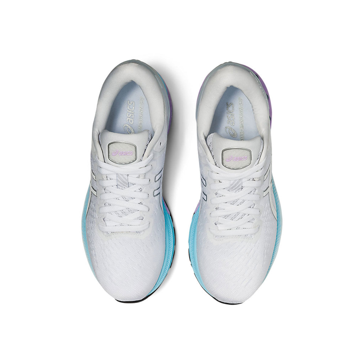 Women's Asics GEL-Kayano 27 Running Shoe - Color: White/Pure Silv (Regular Width) - Size: 5, White/Pure Silver, large, image 6