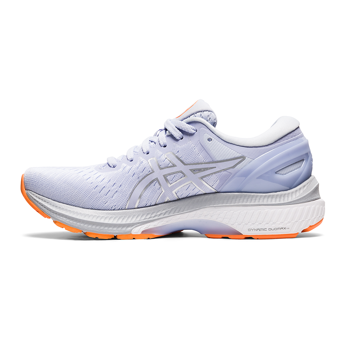 Women's Asics GEL-Kayano 27 Running Shoe - Color: Lilac Opal/Pure Silver - Size: 6 - Width: Regular, Lilac Opal/Pure Silver, large, image 2