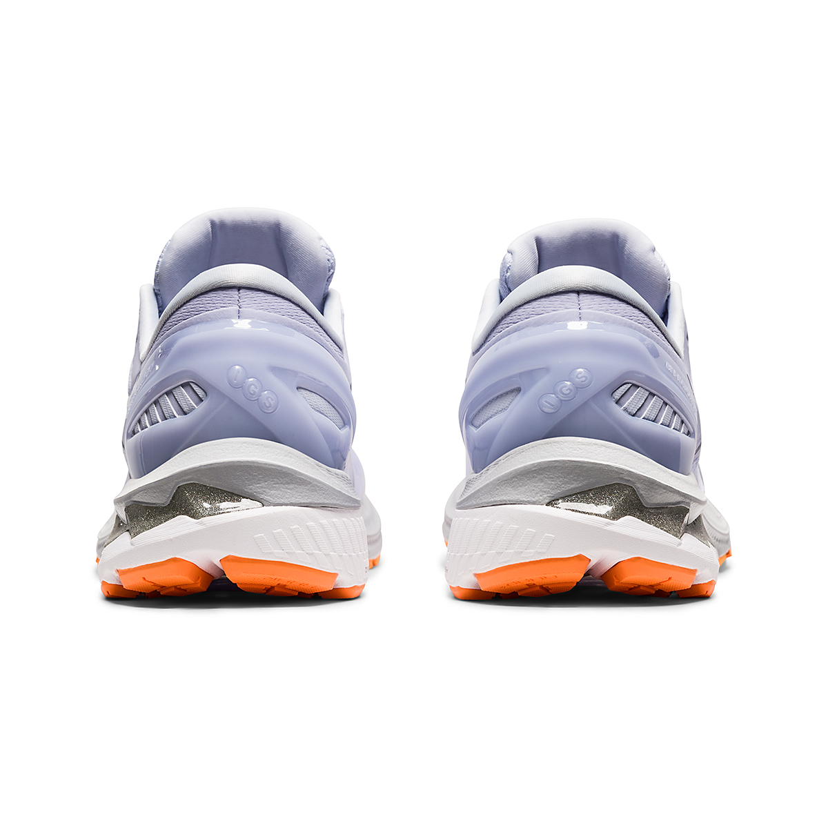 Women's Asics GEL-Kayano 27 Running Shoe - Color: Lilac Opal/Pure Silver - Size: 6 - Width: Regular, Lilac Opal/Pure Silver, large, image 6