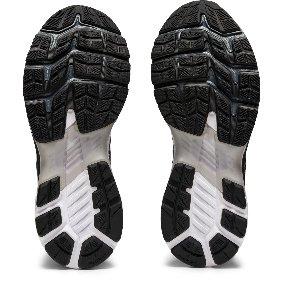 Women's Asics GEL-Kayano 27 Running Shoe - Color: Black/Pure Silv (Regular Width) - Size: 5, Black/Pure Silv, large, image 7