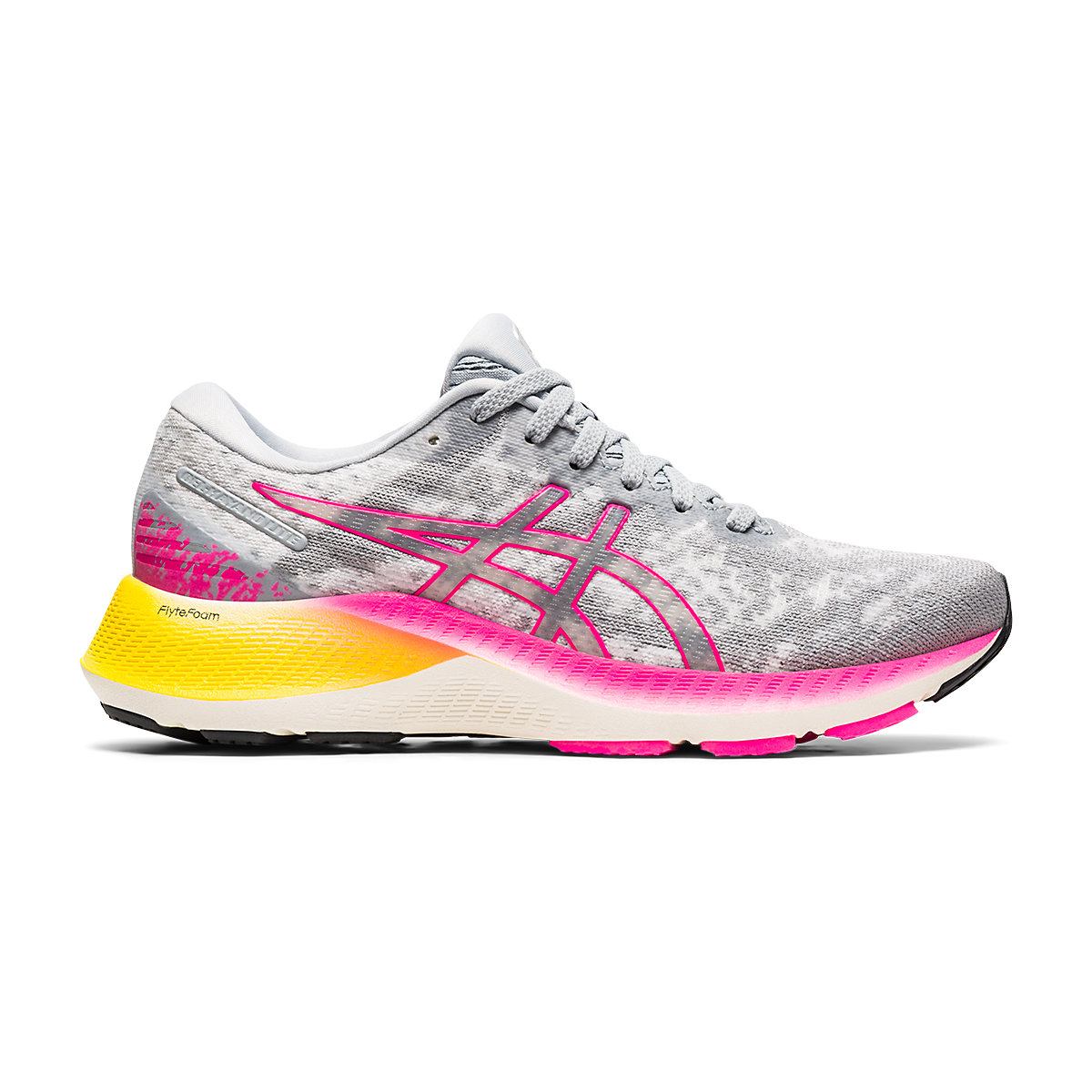 Women's Asics GEL-Kayano Lite Running Shoe - Color: Piedmont Grey/Sheet Rock - Size: 5 - Width: Regular, Piedmont Grey/Sheet Rock, large, image 1