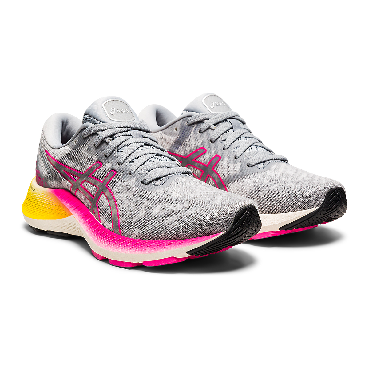 Women's Asics GEL-Kayano Lite Running Shoe - Color: Piedmont Grey/Sheet Rock - Size: 5 - Width: Regular, Piedmont Grey/Sheet Rock, large, image 3