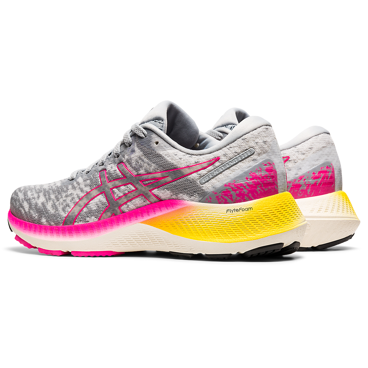 Women's Asics GEL-Kayano Lite Running Shoe - Color: Piedmont Grey/Sheet Rock - Size: 5 - Width: Regular, Piedmont Grey/Sheet Rock, large, image 4