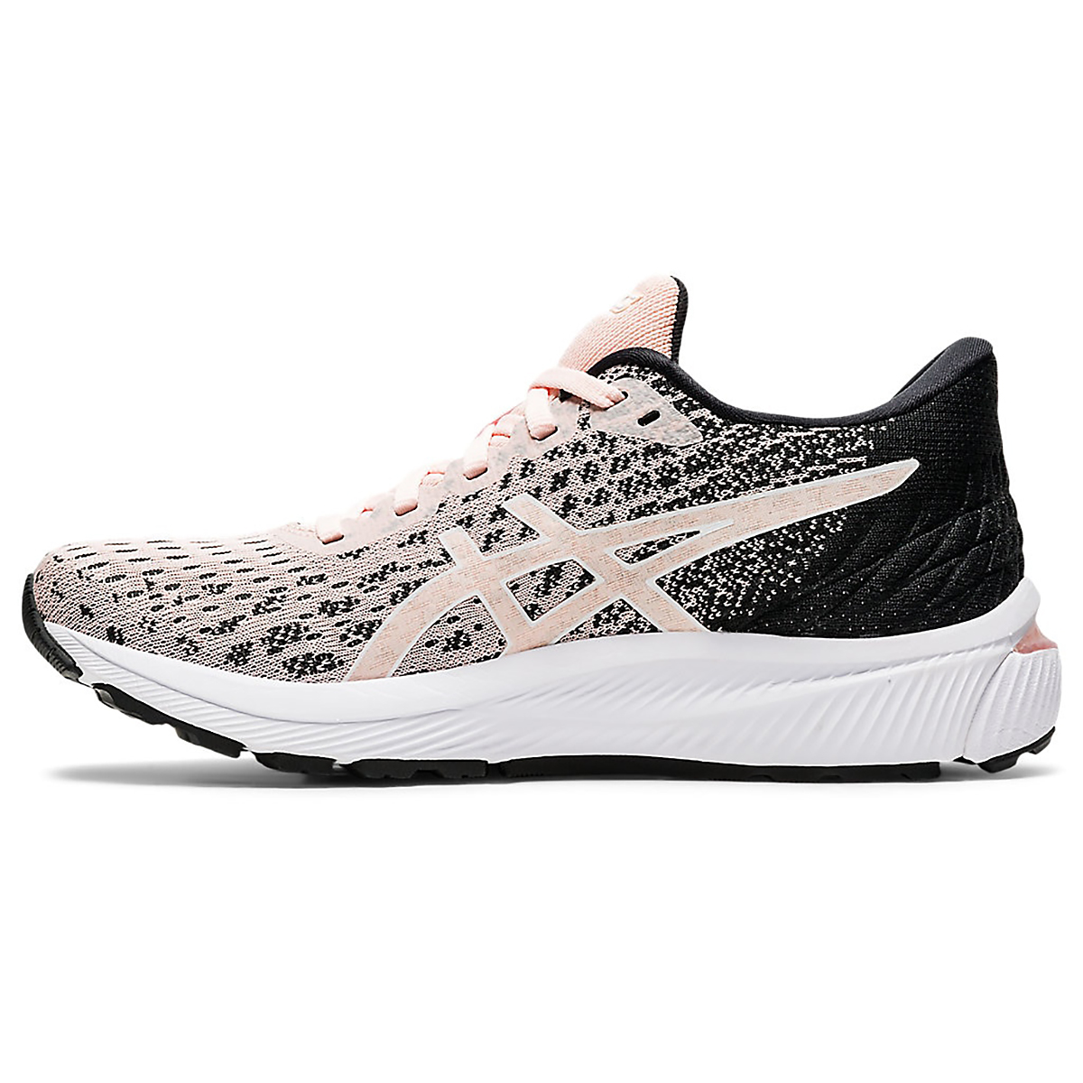 Women's Asics Gel-Cumulus 22 Knit Running Shoe - Color: Breeze/Black - Size: 5 - Width: Regular, Breeze/Black, large, image 2