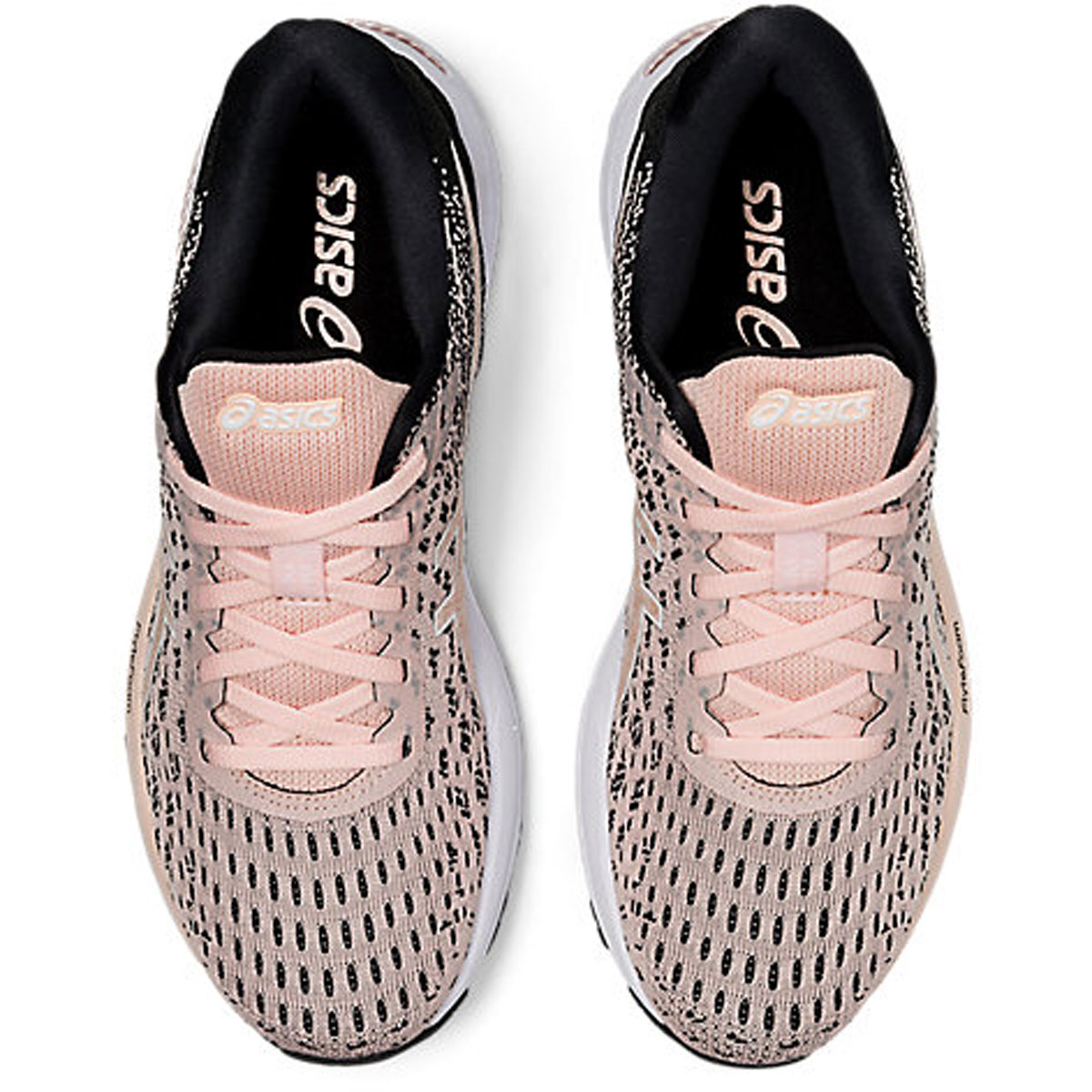 Women's Asics Gel-Cumulus 22 Knit Running Shoe - Color: Breeze/Black - Size: 5 - Width: Regular, Breeze/Black, large, image 6