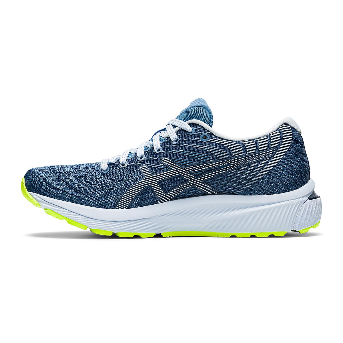 Women's Asics GEL-Cumulus 22 Running Shoe - Color: Grey Floss/White - Size: 6 - Width: Regular, Grey Floss/White, large, image 2