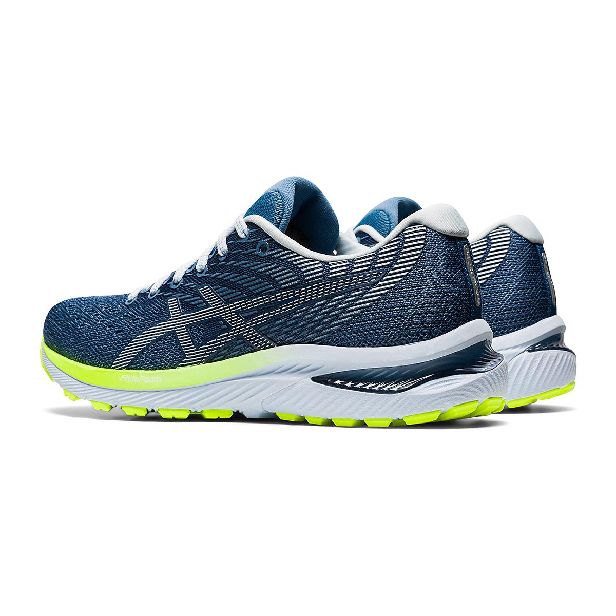 Women's Asics GEL-Cumulus 22 Running Shoe - Color: Grey Floss/White - Size: 6 - Width: Regular, Grey Floss/White, large, image 4