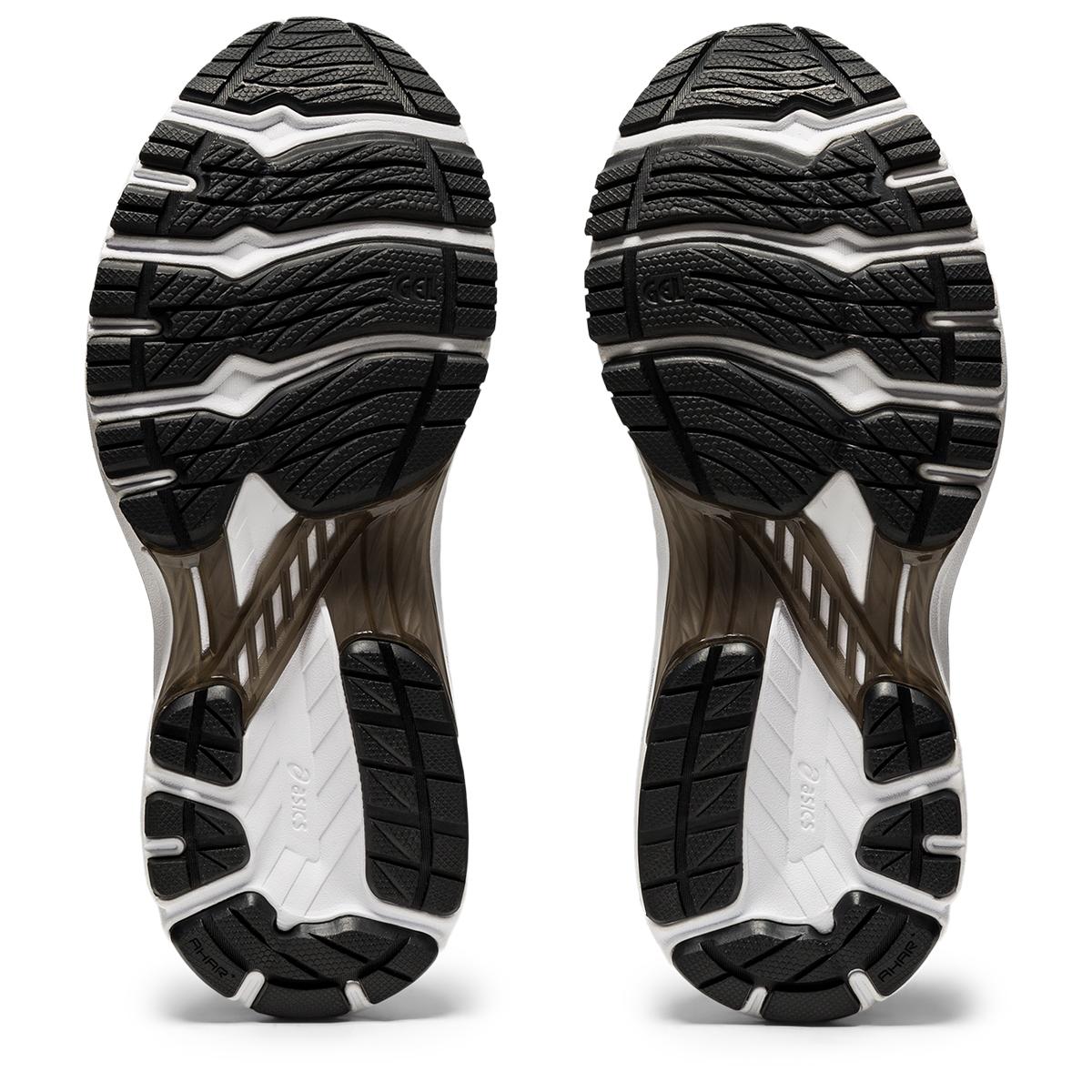 Women's Asics Gt-2000 9 Running Shoe - Color: Black/White - Size: 5 - Width: Regular, Black/White, large, image 6