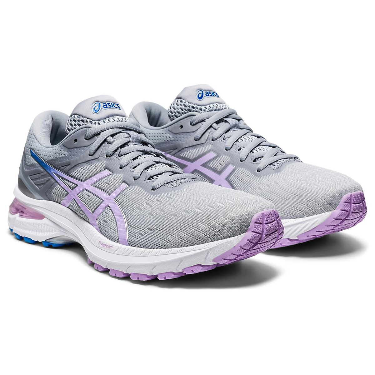 Women's Asics Gt-2000 9 Running Shoe - Color: Piedmont Grey - Size: 5 - Width: Regular, Piedmont Grey, large, image 3