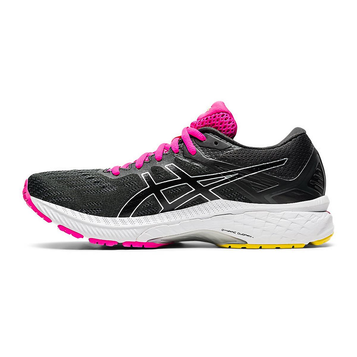 Women's Asics GT-2000 9 Running Shoe - Color: Graphite Grey/Black - Size: 5 - Width: Regular, Graphite Grey/Black, large, image 2