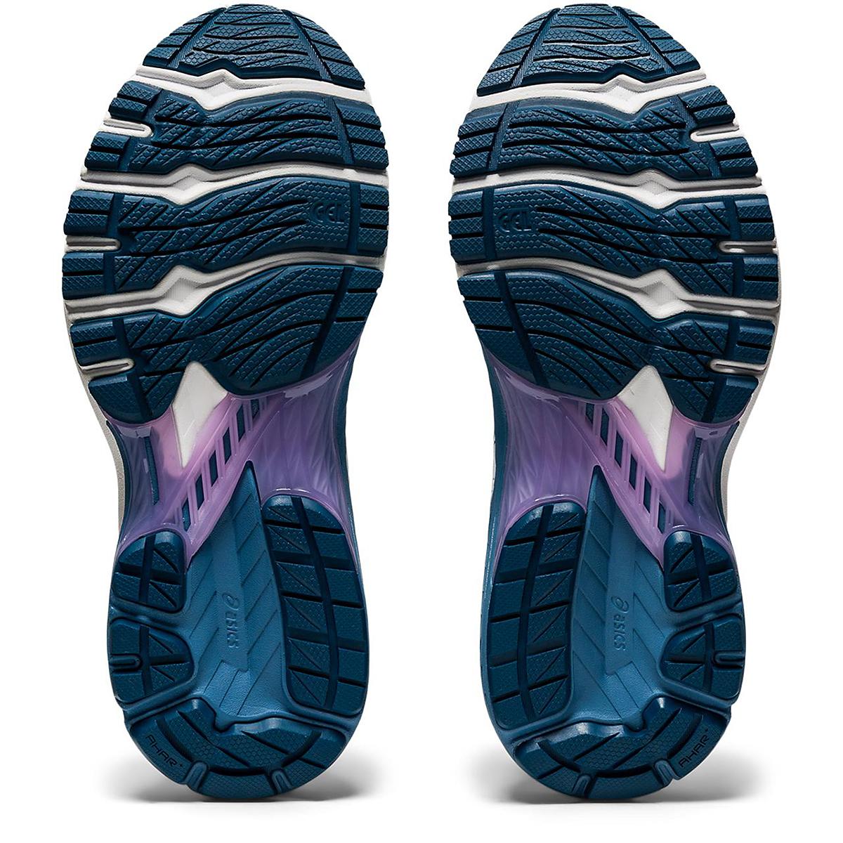 Women's Asics Gt-2000 9 Running Shoe - Color: Mako Blue/Grey Floss - Size: 5 - Width: Regular, Mako Blue/Grey Floss, large, image 4